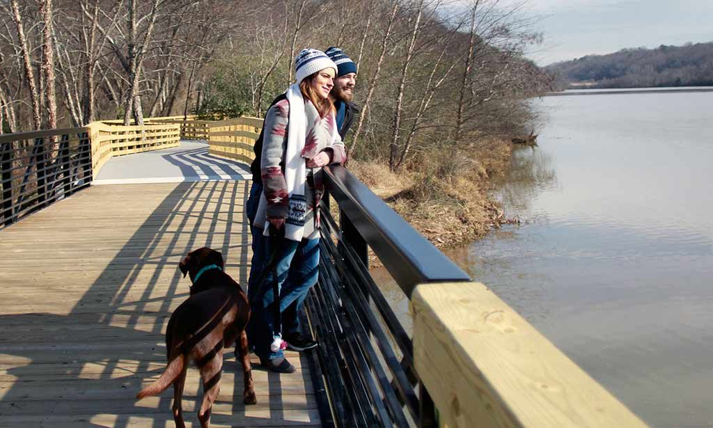 Roswell Riverwalk - Credit: Roswell CVB